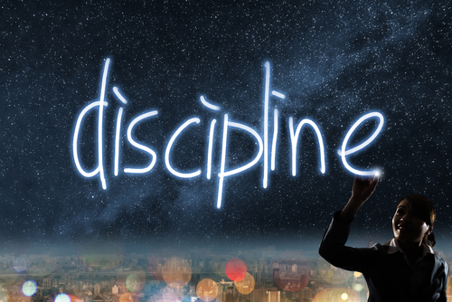 FAIRE DE LA DISCIPLINE SON MEILLEUR ALLIE!